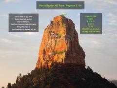 Rock Climbing Photo: Pegasus Topo