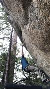 Rock Climbing Photo: A couple moves in...