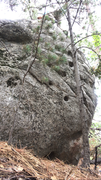 Rock Climbing Photo: Fun pocket climb to the left of Blackballed