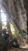 Rock Climbing Photo: Super fun problem just right of Anvil Crawler that...