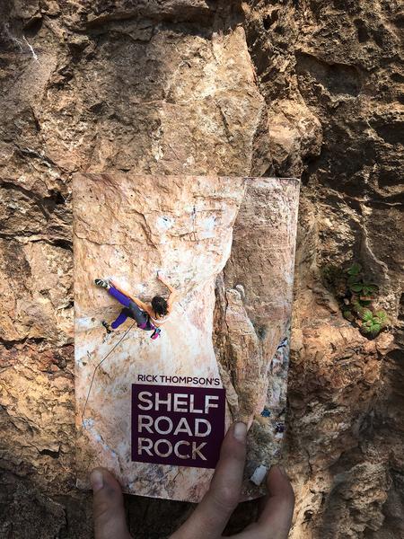 Super tiny climber found near base of route.