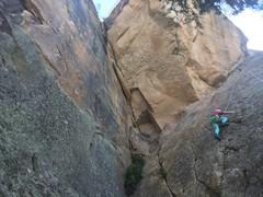 Rock Climbing Photo: Mia does it easy.