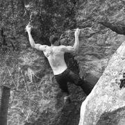 Rock Climbing Photo: Doing laps on Pride, Fall 2016