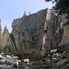 Nice Arete Climbing