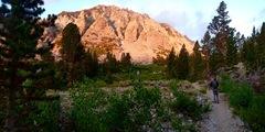 Rock Climbing Photo: Approaching Mt. Emerson!