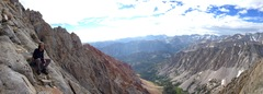Rock Climbing Photo: High on Emerson!
