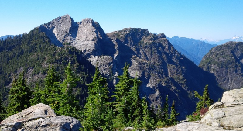 Crown Mountain and the Camel, Vancouver's North Shore mountains