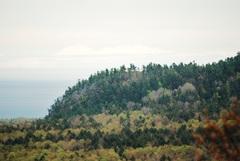 Luntas lookout from Ghost peak.