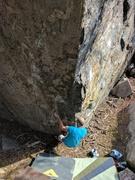 Rock Climbing Photo: Jesse on GTW