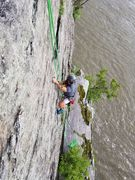 Great solo top rope route
