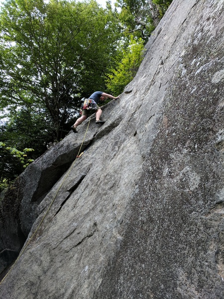 Craig at the start of Black Tourmaline P1