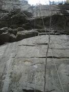 Rock Climbing Photo: Monkey Pump (11d) at the Honey Pot.