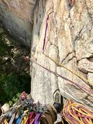 Rock Climbing Photo: First pitch of Birdland