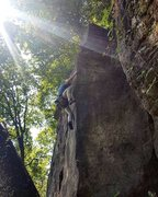 Rock Climbing Photo: Gillete Arete