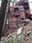 Rock Climbing Photo: Road Runner and The Cardinal