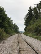 Rock Climbing Photo: Railroad Tracks at Devil's Lake
