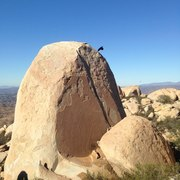 Rock Climbing Photo: I believe this crack opposes the splitter, braj!1!...