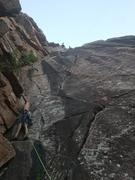 Rock Climbing Photo: Thor leading