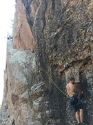Rock Climbing Photo: Getting my clean on