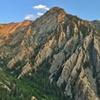 Storm Mountain and its north ridges, Big Cottonwood Canyon