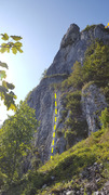 Rock Climbing Photo: Burtica is in center, taken from approach talus sl...