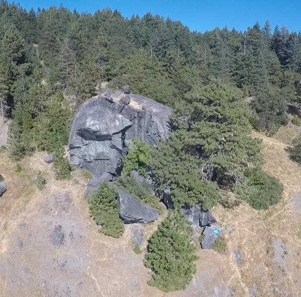 Cold Springs Split Rock