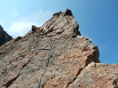 Rock Climbing Photo: Having fun on Steorts Ridge