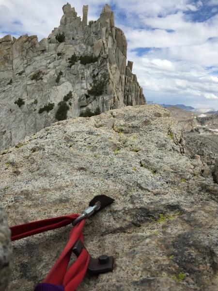 Anchors atop the Pinnacle