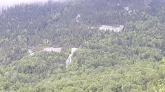 Rock Climbing Photo: Left of the route. A gauche de la voie.