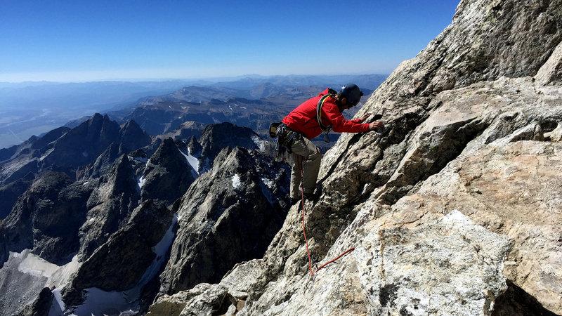 A classic climb on perfect rock