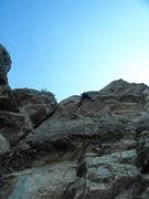 Rock Climbing Photo: A Fistful of Bolts