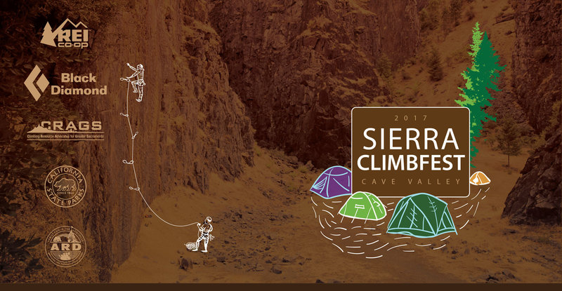 Join CRAGS at the Sierra Climb Fest on Sept 23rd.