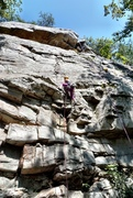 Rock Climbing Photo: Beta shot
