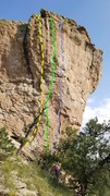 Rock Climbing Photo: White Witch Topo. September 2017.