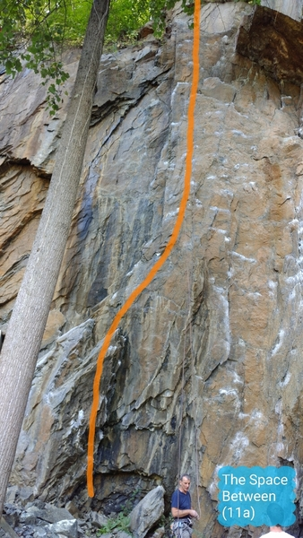 The Space Between (5.11a)