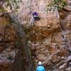 Climbing on Dirty Swing