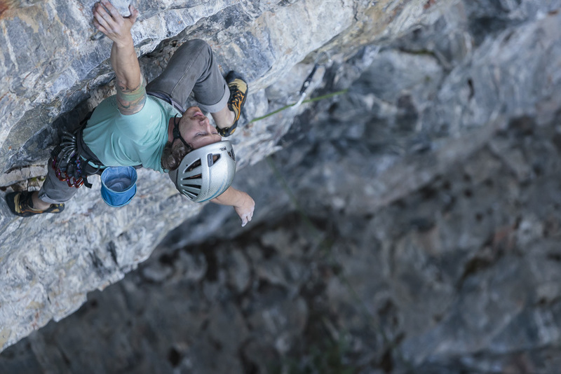 Shiny Yellow Crane 5.12a