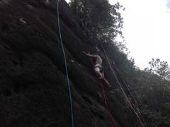 Sri lanka's very first sport climbing route