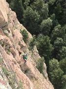Rock Climbing Photo: Fun on pitch 3!