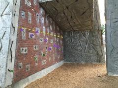 Rock Climbing Photo: Traverse region under the roof.