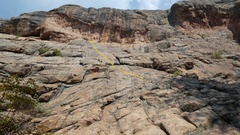 Rock Climbing Photo: Captain Underpants.