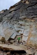 Rock Climbing Photo: Climbers on Pitch 1.