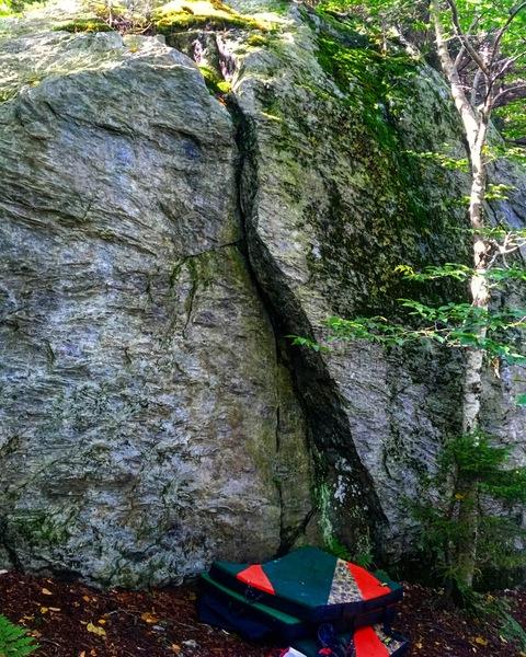 O'Reilly's boulder left side.