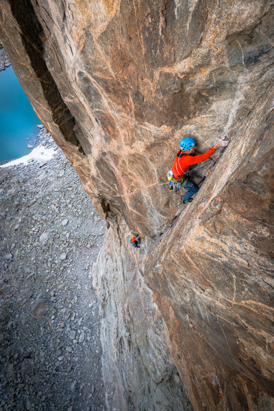 Corner climbing at its finest