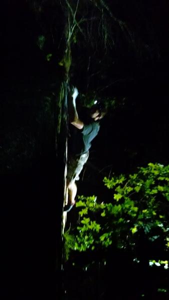 Dan getting towards to top of this fun line!