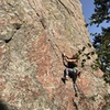 Jen cruising the first few bolts on BB King.