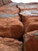 Rock Climbing Photo: bottom view