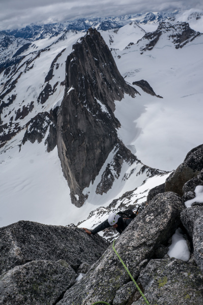 Early season climb up Bugaboo!