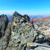 Derek Field and the summit in view