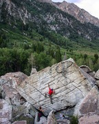 Rock Climbing Photo: Slightly scenic, this one.